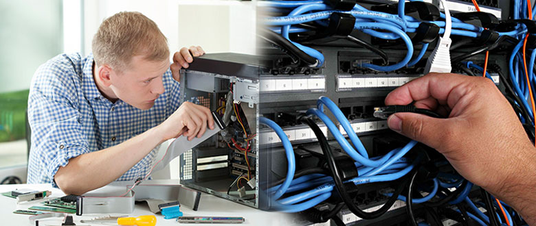 Athens Georgia On Site Computer PC & Printer Repairs, Networks, Voice & Data Cabling Technicians
