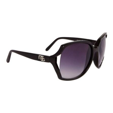 Vintage DE Sunglasses DE9 Gloss Black Frame