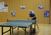 Florian GATIGNON - Joueur méritant janvier 2015 club de tennis de table Châtelaine