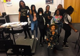 Video Producer for Chance and Jamila Woods visit South Shore High School, share industry tips