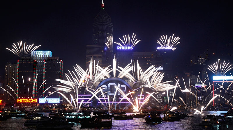 Asia Pacific nations greeting 2013 eagerly as New Year s Eve parties     Hong Kong celebrates New Year s Day