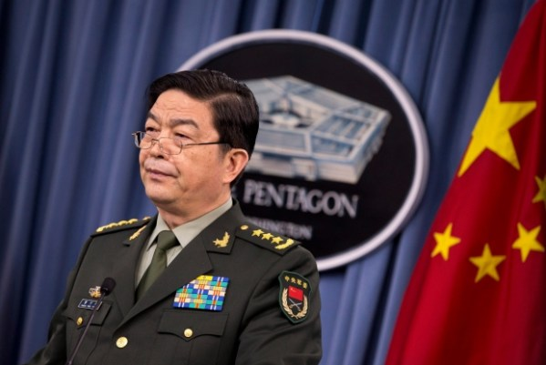 China's defence minister meets with Tory ministers amid ...