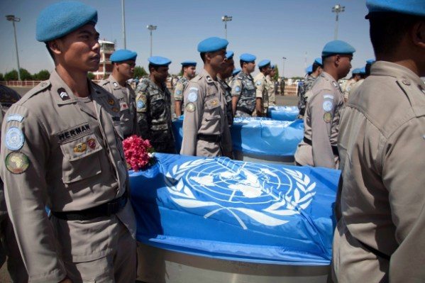 United Nations: 2 peacekeepers killed in attack on convoy ...