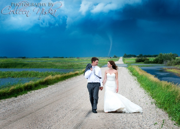 Wedding Tornado Photo