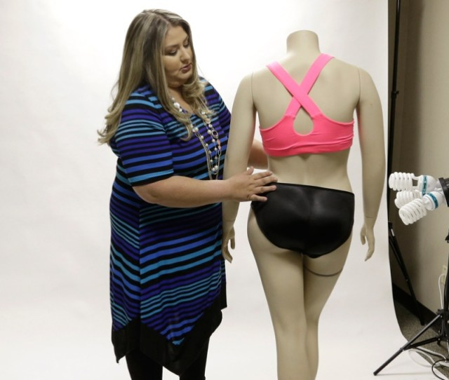 Jessica Asmar A Mannequin Wearing Padded Panties