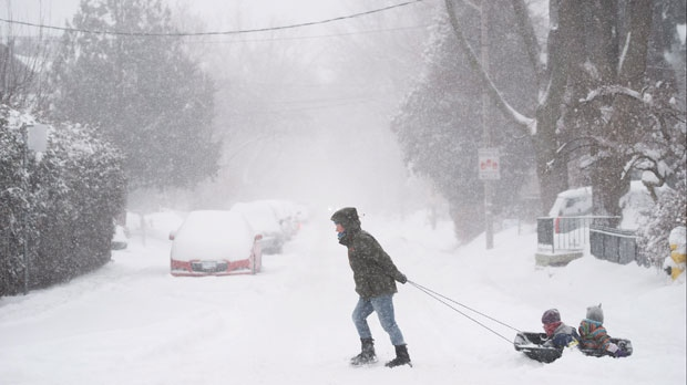 Blasts Of Arctic Air In Western Canada More Snow In