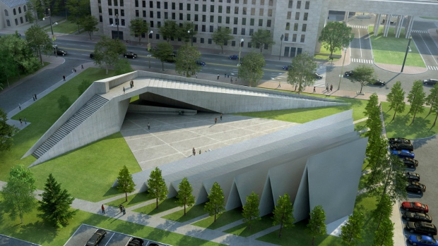 The proposed Victims of Communism memorial