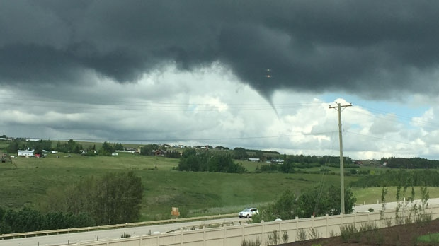 Funnel Clouds Spotted In Calgary Area Ctv News