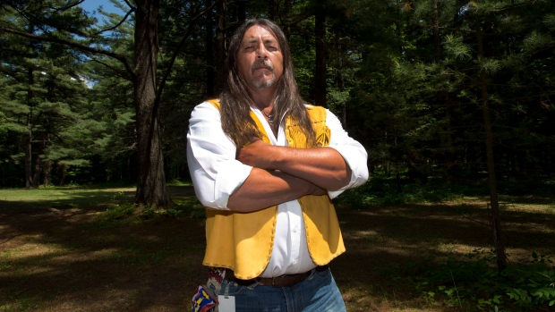 Kanesatake Grand Chief Serge Simon