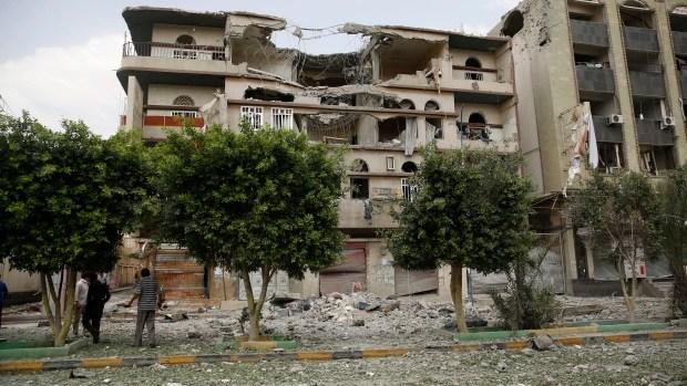 Missiles hit Yemen - Sanaa