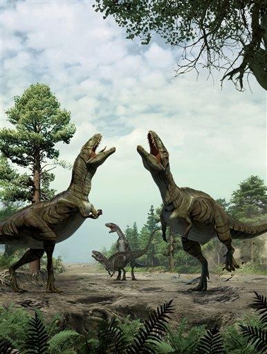 dying dinosaur