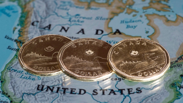 Canada dollar loonie