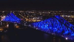 CTV News Channel: Jacques Cartier bridge makeover