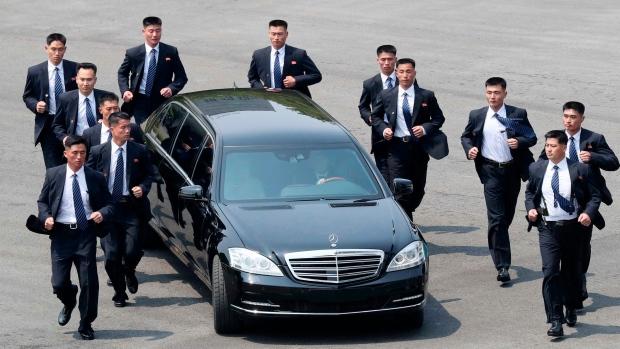 Kim Jong Un's bodyguards