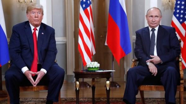 Helsinki summit: Trump questions U.S. intel, not Putin, on ...