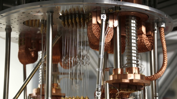 Electronics for use in a quantum computer