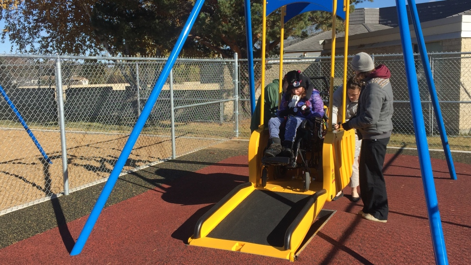 Fully Wheelchair Accessible Playground Opens In Saskatoon