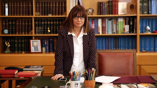 Image result for first female greece president Ekaterini Sakellaropoulou biography