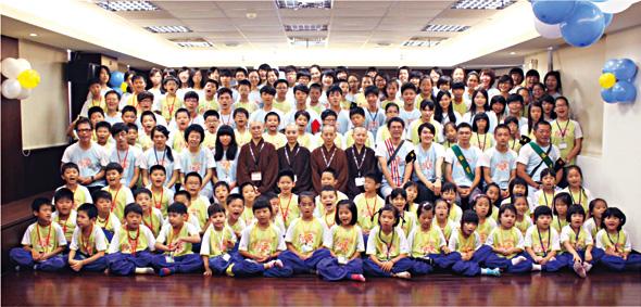 普彰精舍一百零二年度向日葵兒童禪修營