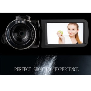 Digital Camcorder Video Camera 24MP 3.0″ rotatingTouchscreen Full HD 1080P suitable for all events