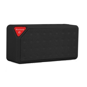 Multi-Functional Rechargeable Jambox X3 Fm Bluetooth Sd Slot Mic Tf Speaker Black