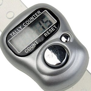 Digital Hand LCD Screen Tally Counter For Roll Call And Counting Numbers In Public Places