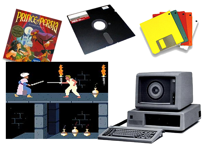 juegos de computadora ochentas y noventas