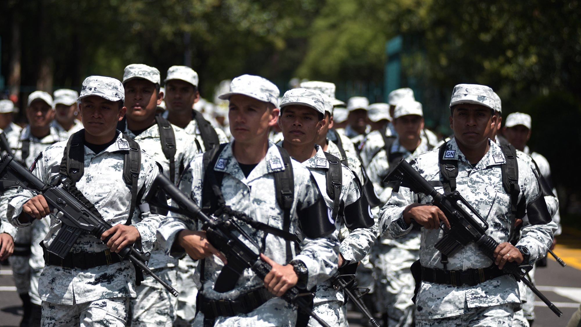 Resultado de imagen para guardi nacional en Jalisco