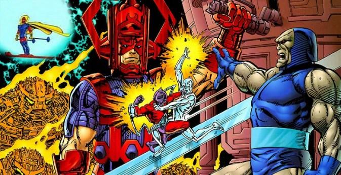 "Darkseid vs. Galactus: The Hunger"" (1995): apetito de titanes ..."
