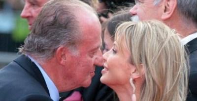 El Rey emérito, Juan Carlos I, y Corinna en una foto de archivo.