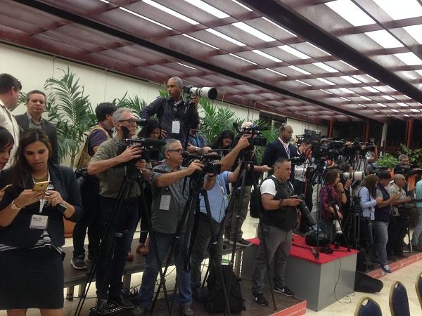 La prensa nacional y extranjera se encuentra lista para brindar cobertura al cónclave
