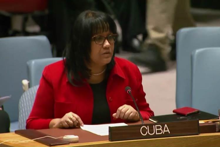 Representante de Cuba ante Naciones Unidas, Anayansi Rodríguez