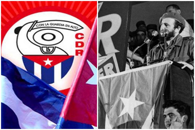 Fidel y los CDR