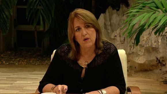 Ministra-Presidenta del Banco Central de Cuba, Irma Margarita Martínez Castrillón.