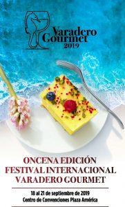 Logo de la XI edición del Festival Varadero Gourmet
