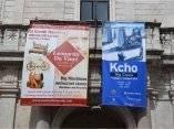 Inauguración de la exposición de Kcho en el Vaticano.