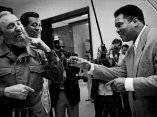 Teófilo Stevenson, Fidel Castro y Muhammad Alí