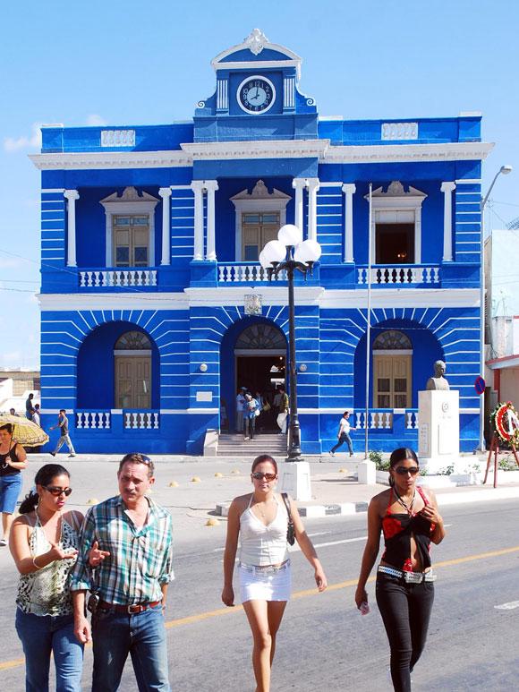 Museo Vicente Gracia, situado en el casco histórico de nuestra ciudad, en la provincia de Las Tunas, el 8 de enero de 2010. AIN Foto/Yaciel Peña de la Peña