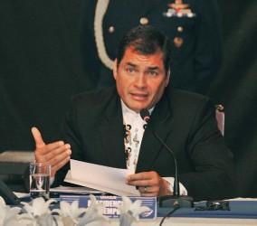 Rafael Correa, presidente de Ecuador. (Foto: Archivo)