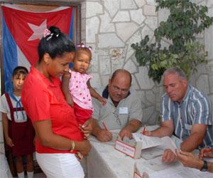 Cuba en elecciones
