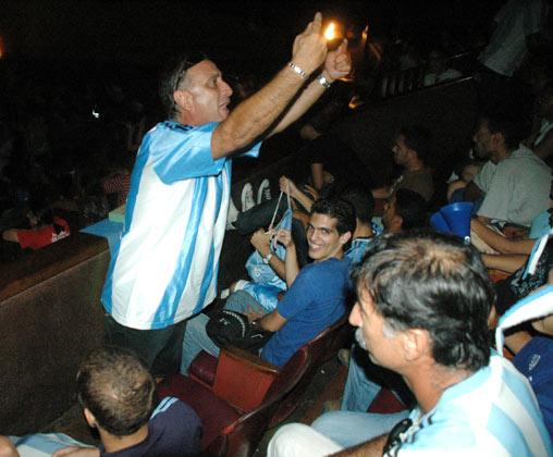 Por Argentina en el cine Yara, de La Habana, Cuba. Foto: Kaloian
