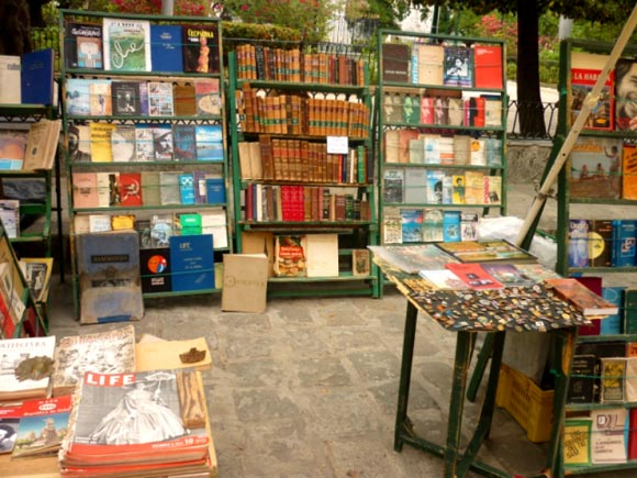 Librerías al aire libre