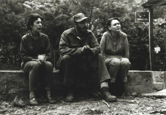 Celia, Fidel y Haydeé
