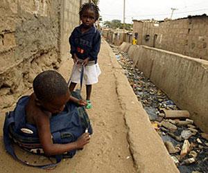 Niños en pobreza extrema