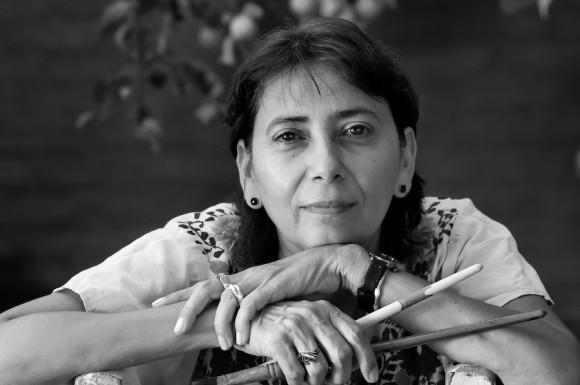 La artista de la plástica cubana Alicia Leal. Foto: Roberto Chile