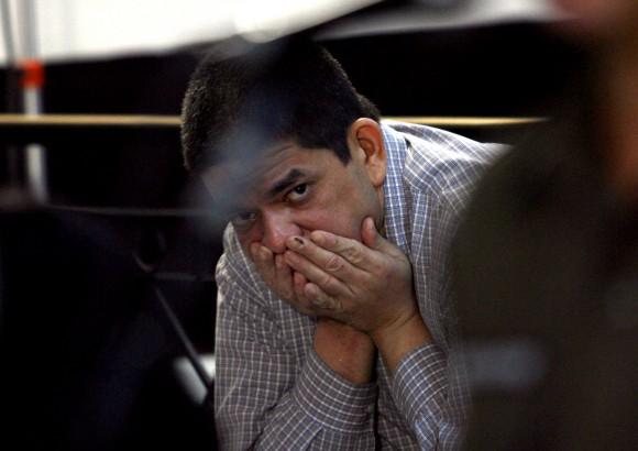 Chávez Abarca durante el juicio en La Habana. Foto: Ismael Francisco.