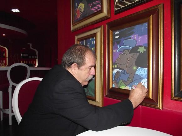 Juan Padrón dejó su impronta en las lienzografías