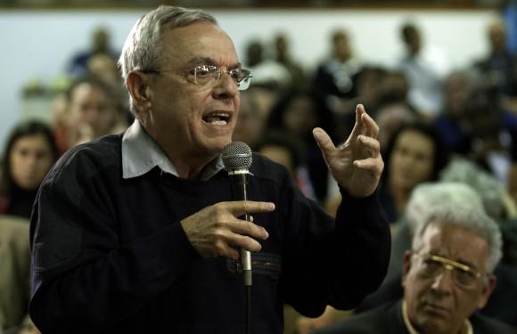 Eusebio Leal en el encuentro. Foto: Roberto Chile