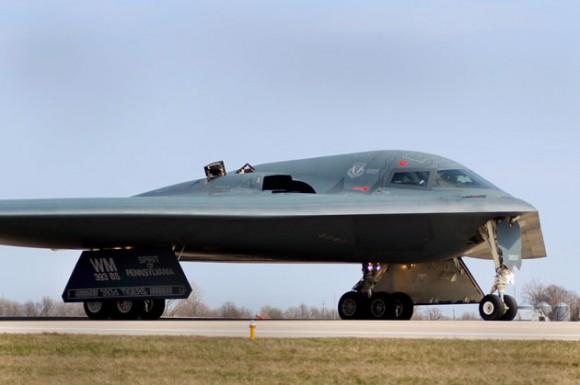Foto: Imagen de un bombardero B-2 Stealth norteamericano / AFP/ HO/US AIR