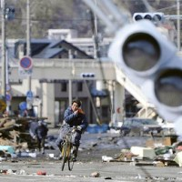 Terremoto, tsunami, uranio y bicicleta
